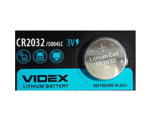 VIDEX CR-2032 1BL