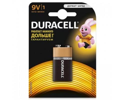 DURACELL 9V  6PLF22 (КРОНА) 6LR61 MN1604
