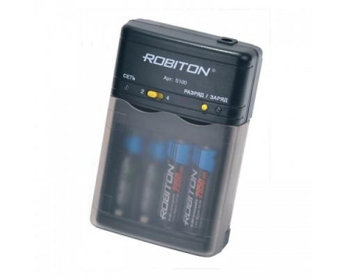 З.У. ROBITON SMART S100 (1-2 AA/AAA.800mA) АВТОМАТ
