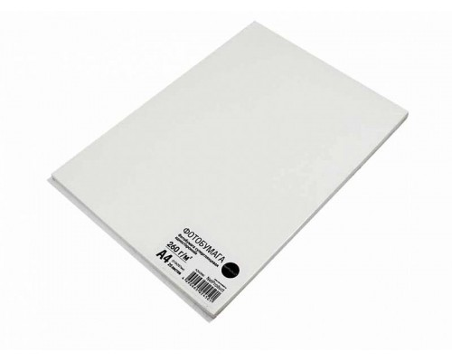 Фотобумага NetProduct суперглянцевая односторонняя, A4, 260 г/м2, 20 л.