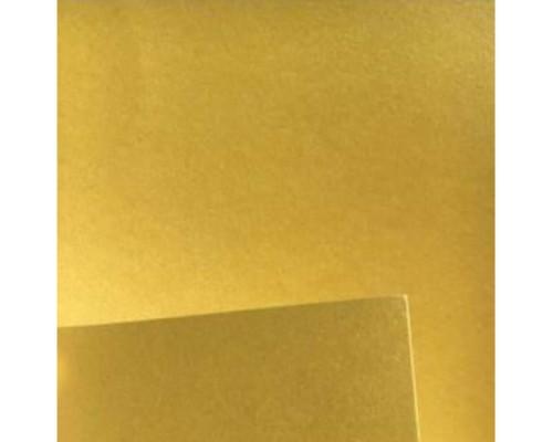 А4 250г/м2, 50л.  Перламутровая двусторонняя - Светлое Золото, Искра INSIDE