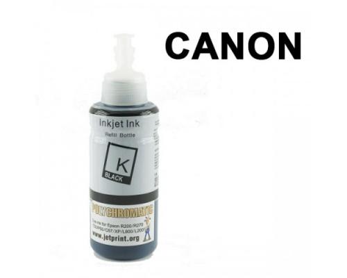 Чернила Polychromatic для Canon IP4200/IP4600 100мл Black ВОДНЫЕ универсальные