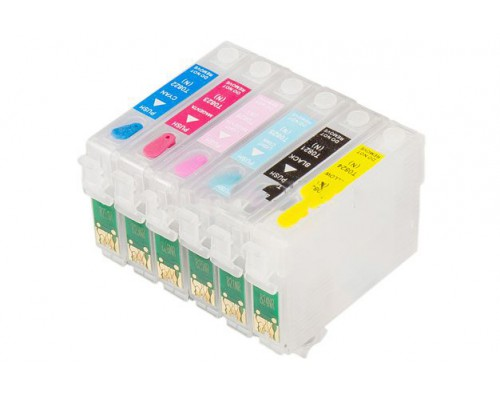 СНПЧ Epson R270/R290/R295/TX700/TX800/Т50 (комбо чип)