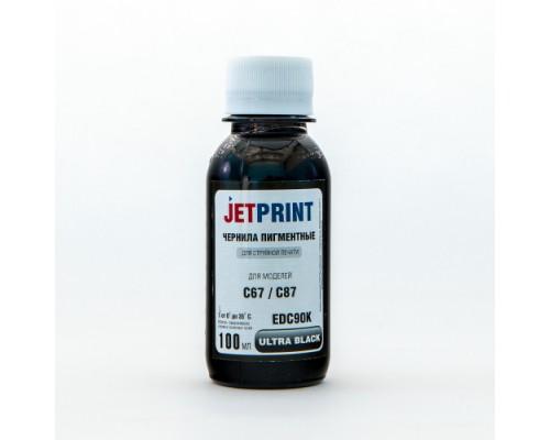 Чернила для Epson С67/ТХ117/S22 Black 100мл пигментные
