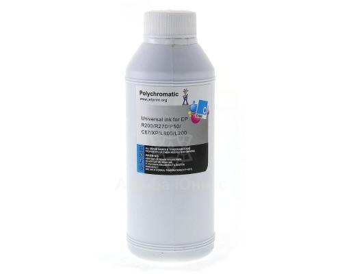 Чернила Polychromatic для Epson Cyan водные L800/L200/R270/P50/XP/R200/C79/C67 500мл