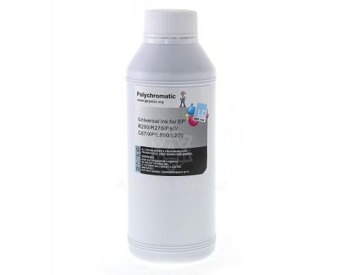 Чернила Polychromatic для Epson Light Cyan водные L800/L200/R270/P50/XP/R200/C79/C67 500мл
