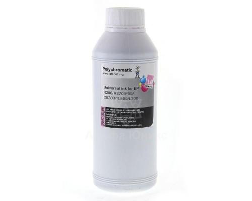 Чернила Polychromatic для Epson Light Magenta водные L800/L200/R270/P50/XP/R200/C79/C67 500мл