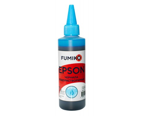 Чернила FUMIKO для Epson 100 мл водорастворимые Light Cyan