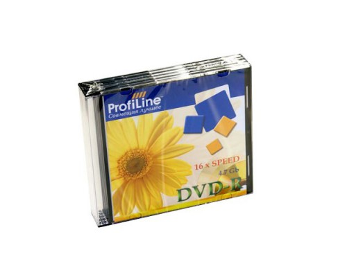 PROFILINE DVD+R 16X SLIM BOX 1 шт.