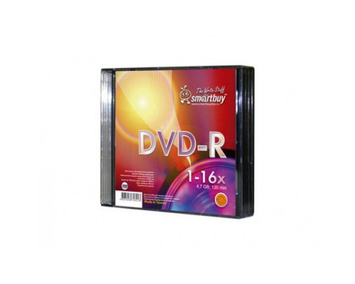 SMART BUY DVD-R 16X SLIM BOX