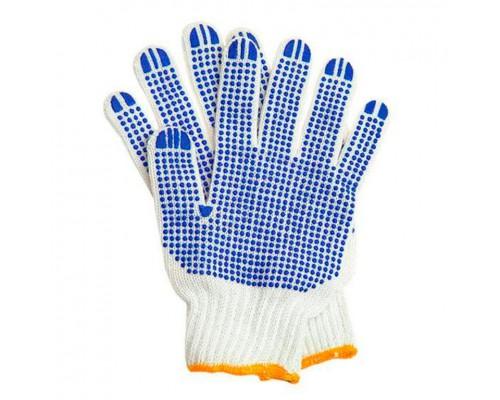 Перчатки х/б 5 нитей с покрытием толстые