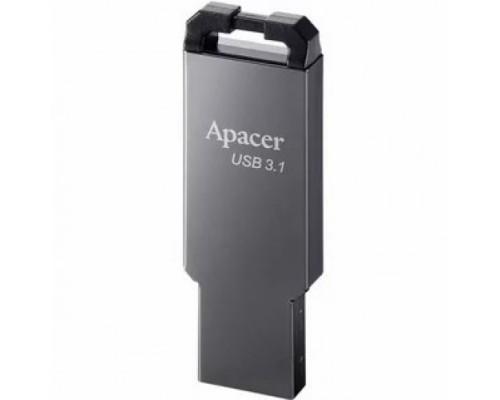 ФЛЭШ-КАРТА APACER 16GB AH360 USB 3.0 ASHY МЕТАЛЛИЧЕСКАЯ