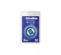 ФЛЭШ-КАРТА OLTRAMAX 8GB 50 MINI DARK CYAN USB 2.0