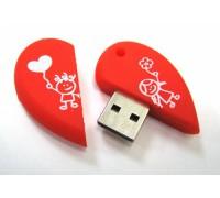 "ФЛЭШ-КАРТА SMART BUY  32GB WILD ""СЕРДЦЕ"" USB 2.0"