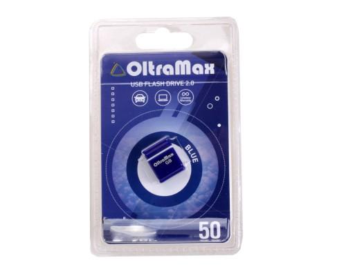 ФЛЭШ-КАРТА OLTRAMAX 8GB 50 MINI BLUE USB 2.0