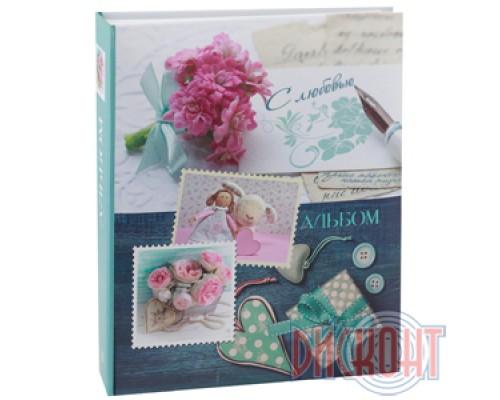 Фотоальбом IA-200 ф 10 на 15 (Цветы, любовь, джинсы)