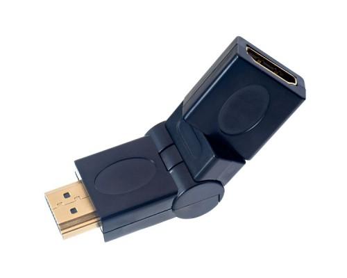 PERFEO АДАПТЕР A-7013 HDMI A(M)-HDMI A(F) ПОВОРОТНЫЙ