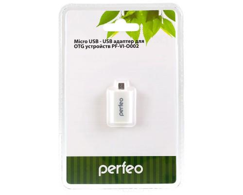 PERFEO АДАПТЕР (OTG) microUSB-USB PF-VI-O002