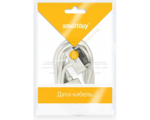 SMART BUY КАБЕЛЬ USB 2.0 > 30PIN 1.2м ДЛЯ iPHONE 4/4S iK-412