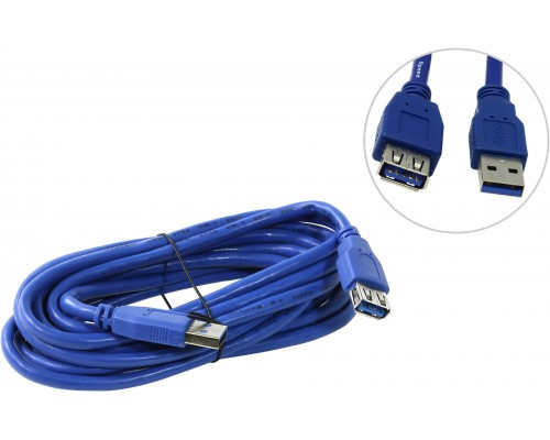 5bites UC3011-030F КАБЕЛЬ-УДЛИНИТЕЛЬ USB3.0(AM)/(AF) 3.0м