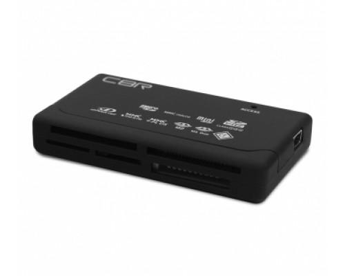 КАРТ-РИДЕР CBR CR455 ВСЕ В 1 ЧЕРНЫЙ С USB 2.0