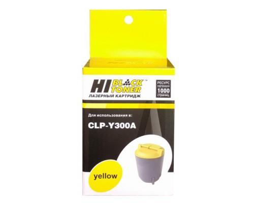 Картридж Samsung CLP-300/300N/CLX-2160/2160N/3160N/3160FN (Hi-Black) CLP-Y300A, Y, 1K