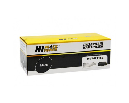 Картридж Hi-Black (HB-MLT-D115L) для Samsung Xpress SL-M2620/2820/M2670/2870, 3K
