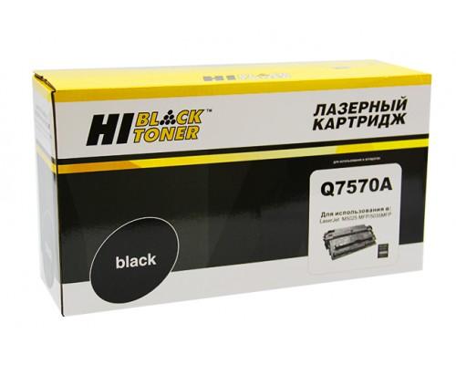 Картридж Hi-Black (HB-Q7570A) для HP LJ M5025/M5035, 15K