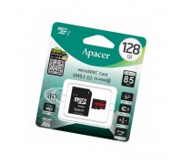 APACER  128GB MICRO SDXC CLASS 10 UHS-I U1 R85 + SD АДАПТЕР