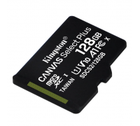 KINGSTON  128Gb MICRO SDHC CLASS 10 Canvas A1(100Mb/s)БЕЗ АДАПТЕРА