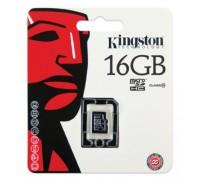 KINGSTON 16GB MICRO SDHC CLASS 10 UHS-I U1(80Mb/s) БЕЗ АДАПТЕРА