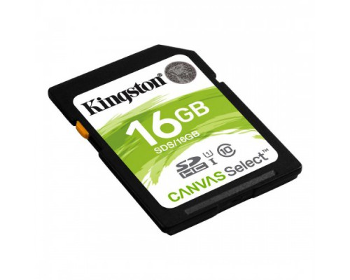 KINGSTON 16GB SECURE DIGITAL SDHC CLASS 10 UHS-I (80Mb/s)