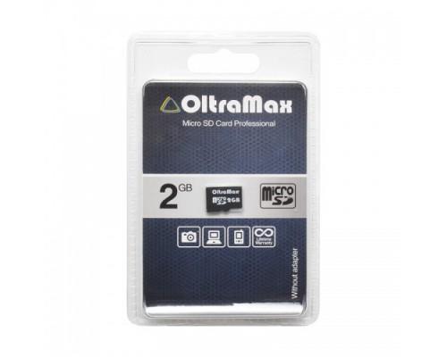 OLTRAMAX 2GB MICRO SD + SD АДАПТЕР