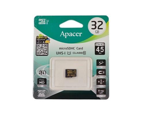 APACER  32 GB MICRO SD SDHC CLASS 10 БЕЗ АДАПТЕРА