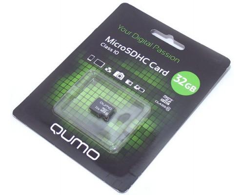 QUMO  32GB MICRO SDHC CLASS 10 БЕЗ АДАПТЕРА