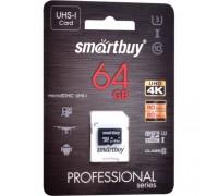 SMART BUY  64GB MICRO SDXC CLASS 10 UHS-I +SD адаптер