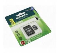 KINGMAX 8GB MICRO SD SDHC CLASS 10 + SD АДАПТЕР