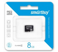 SMART BUY 8GB MICRO SD SDHC CLASS 4 БЕЗ АДАПТЕРА