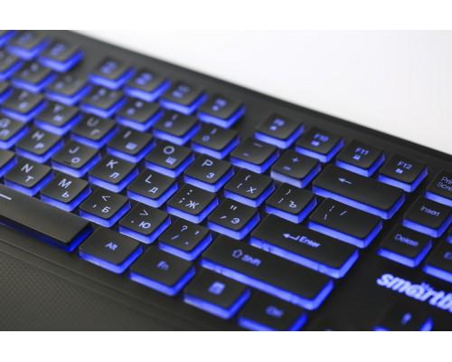 SMART BUY КЛАВИАТУРА 353 USB ЧЕРНАЯ С ПОДСВЕТКОЙ SBK-353U-K