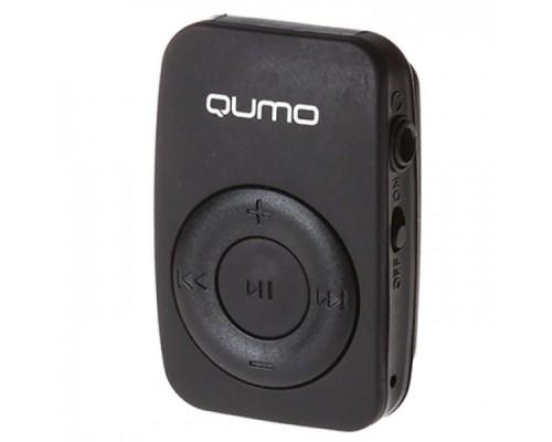 QUMO ACTIVE MP3-ПЛЕЕР COOL BLACK + СЛОТ microSD ВЕС 10 ГРАММ