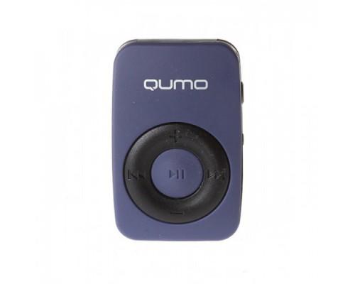 QUMO ACTIVE MP3-ПЛЕЕР DARK BLUE + СЛОТ microSD ВЕС 10 ГРАММ