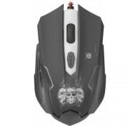 DEFENDER МЫШЬ ИГРОВАЯ GM-180L SKULL 6 кнопок 800-3200dpi