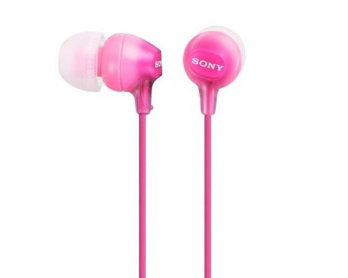 Наушники внутриканальные Sony MDR-EX15LP розовые