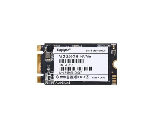 SSD KINGSPEC M2 2280/2242 PCIE NVME 256GB
