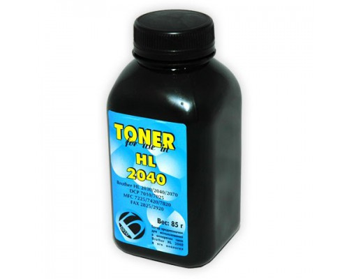 Тонер Brother 2040/2030/2075 банка 85г Булат