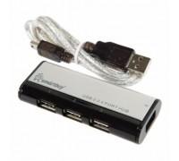 USB HUB SMART BUY 4 ПОРТА ЧЕРНЫЙ С МАГНИТОМ SBHA-6806-K