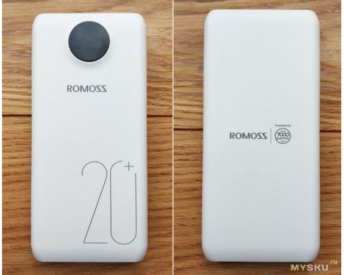 Powerbank внешний акб 20000 mah ROMOSS SW20 Pro
