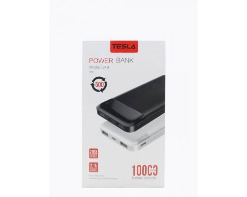 TESLA POWERBANK J349 10000 mah белый/черный