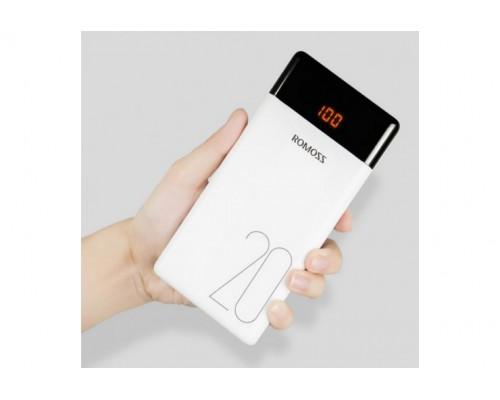 Powerbank внешний акб 20000 mah ROMOSS LT20